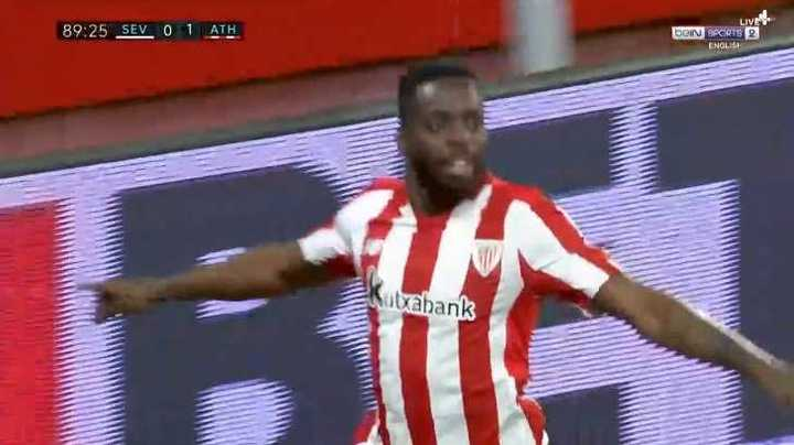 El gol del Athletic de Bilbao