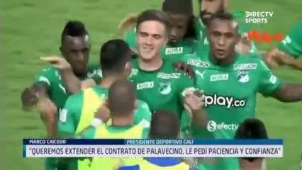 El presidente del Deportivo Cali rechazó la oferta de River por Agustín Palavecino.