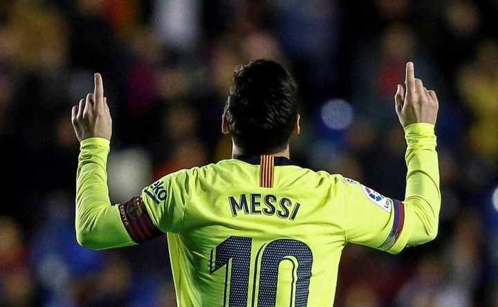 Los goles de Messi en el 2018
