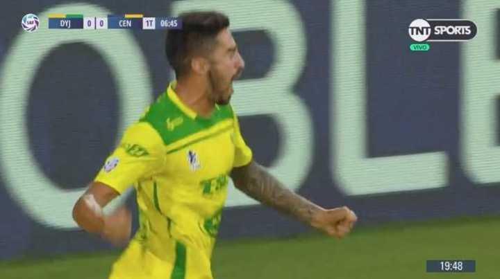 Lucero capitalizó el rebote: 1 a 0