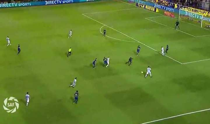El primer gol de Atlético a Boca