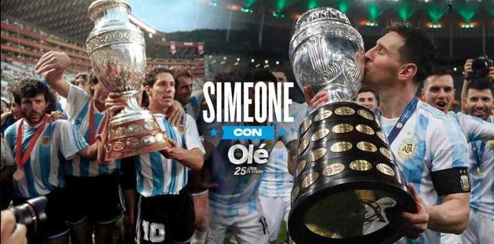 Simeone, en exclusiva con Olé