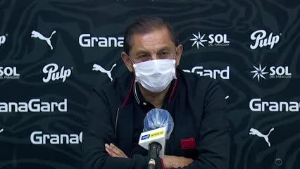 La conferencia de Ramón Díaz tras el 0-0 de Libertad ante Cerro Porteño