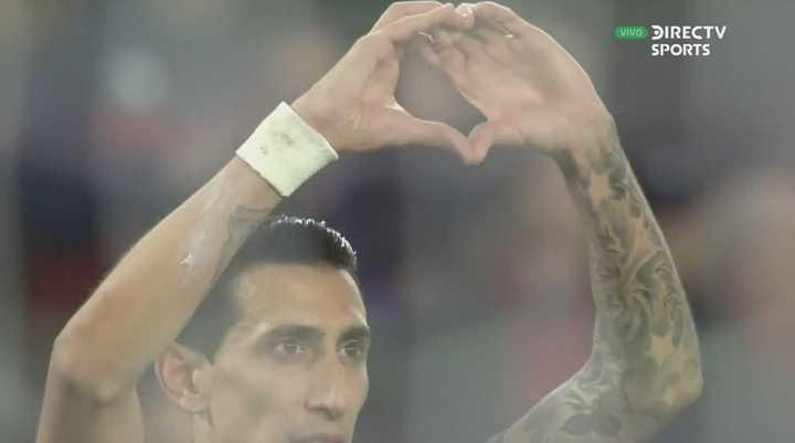 El gol de Fideo Di María para PSG