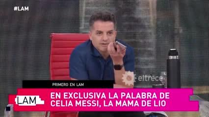 La mamá de Messi explicó por qué no estará en Masterchef Celebrity 3