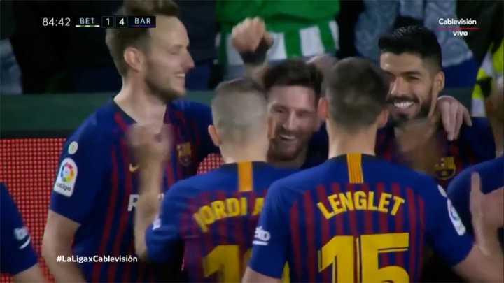Messi ya había metido un gol parecido al que hizo contra Betis