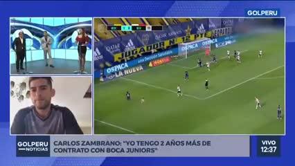 Carlos Zambrano quiere la Libertadores