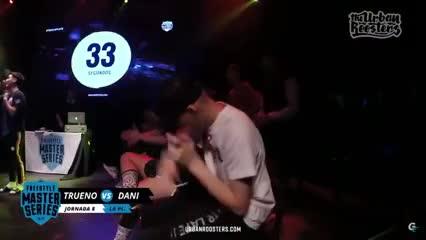 Minutazo de Dani frente a Trueno