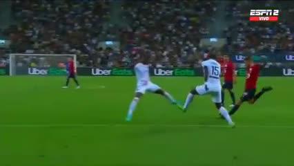 El gol de Lille ante PSG