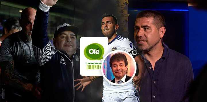 Daniel Mollo y su emoción hasta las lágrimas por Diego
