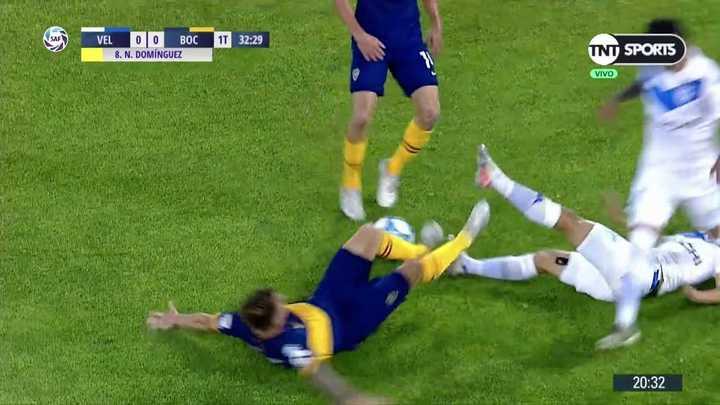 El choque entre Buffa y Domínguez