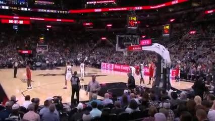 El homenaje en San Antonio-Toronto para Kobe
