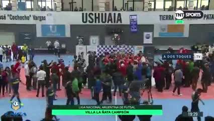 Villa La Ñata venció a Boca 3-2 y ganó la Liga Nacional