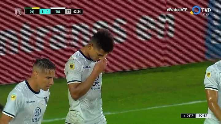 Talleres lo igualó con un gol en contra de Breitenbruch