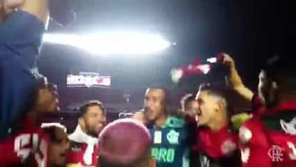 """El picante cantito del Flamengo después de ser campeón: """"Si nos organizamos..."""""""