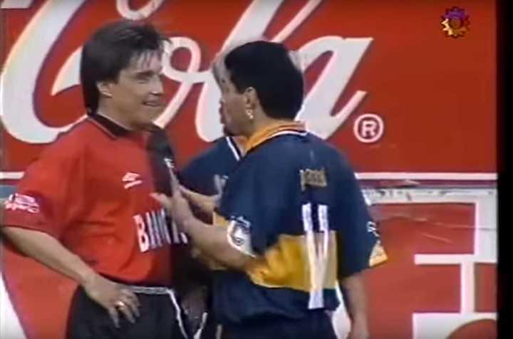 El Huevo Toresani y la pelea con Maradona