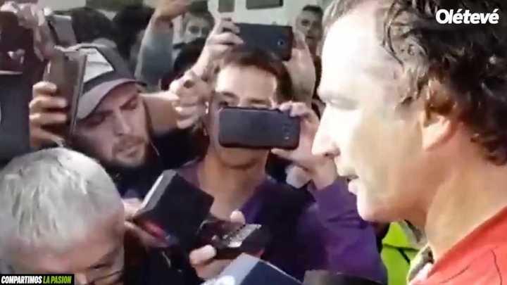 Las críticas de Pizzi sobre la derrota ante Huracán