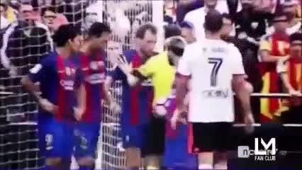 Diego Alves y los duelos con Messi y Cristiano