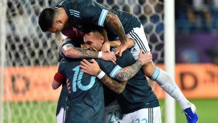 El resumen de la victoria de la Selección argentina frente a Brasil