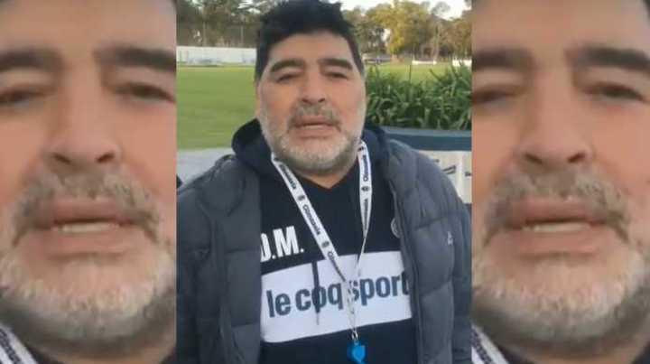 El saludo de Diego para Los Pumas