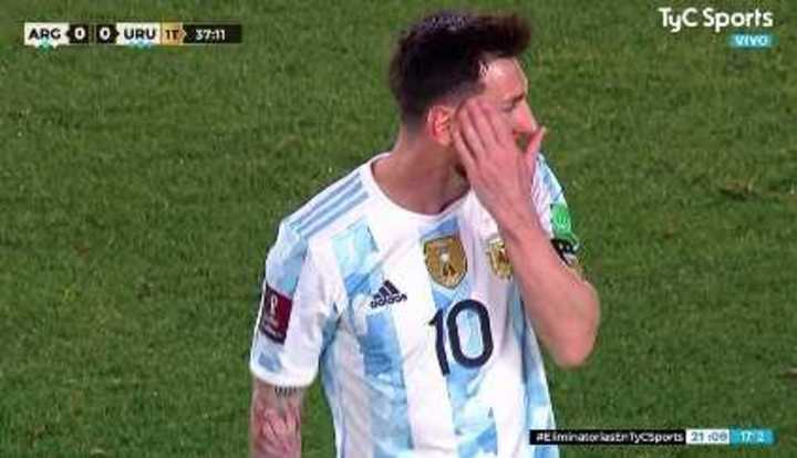 Messi estuvo cerca de poner el 1 a 0