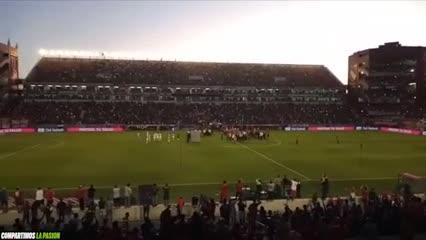 La fiesta en la cancha de Independiente desde adentro (Olé)