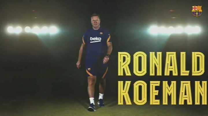 El mensaje de Ronald Koeman para los hinchas blaugranas