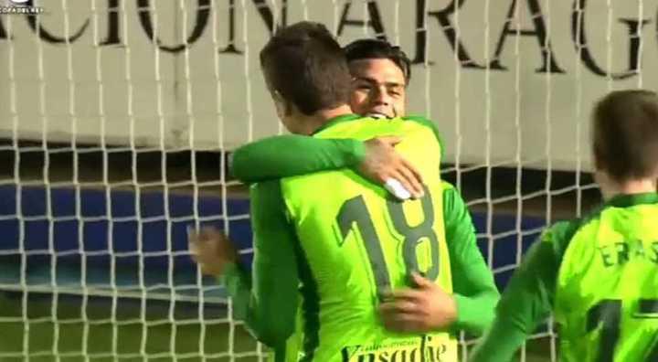 El gol que le regalaron a Silva