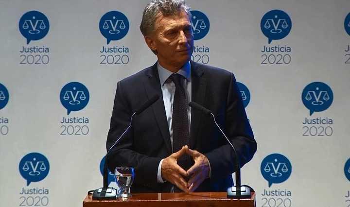 """""""Macri es el presidente de la Nación y merece mi respeto"""""""