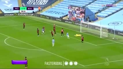 Jugadón y gol de Gabriel Jesus