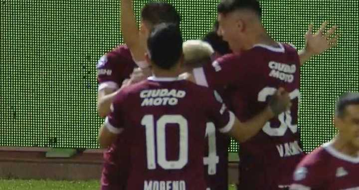 Bernabei marcó el 2-0 para el Grana