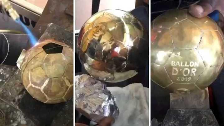 Mané tiene su Balón de Oro