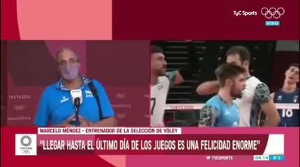 Marcelo Méndez, DT de la Selección de vóley, recordó sus orígenes en River