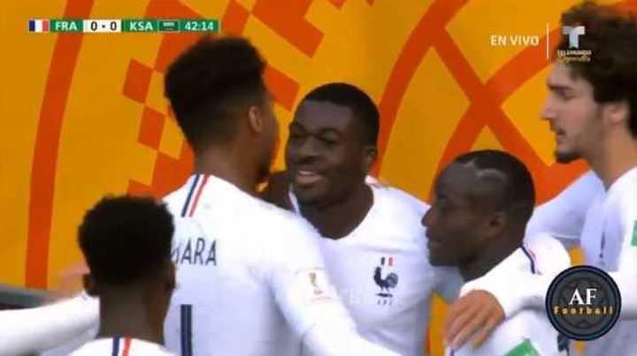 Mirá los goles de Francia 2 - Arabia Saudita 0