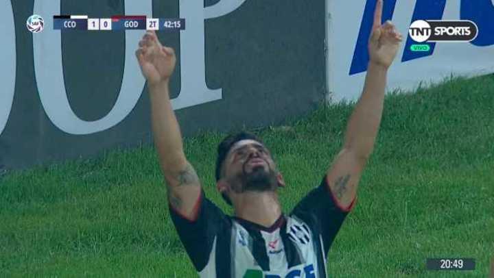 Galeano marcó el 1 a 0 del Ferroviario