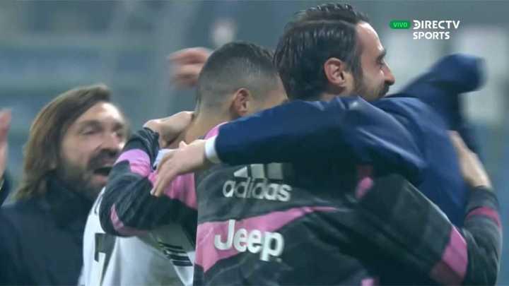 Morata liquidó el partido en tiempo de descuento