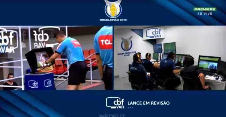 La jugada de la polémica en Brasil