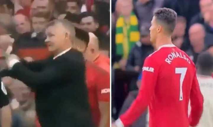 ¿La burla de Ronaldo al DT?