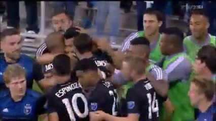 El primer gol de Andrés Ríos en la MLS