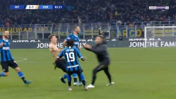 El Inter se lo dio vuelta al Hellas Verona