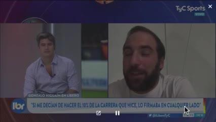 Higuaín y cómo jugar con Messi y Cristiano