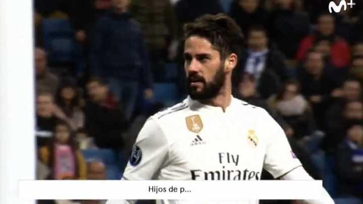 Isco insultó a la hinchada del Real Madrid