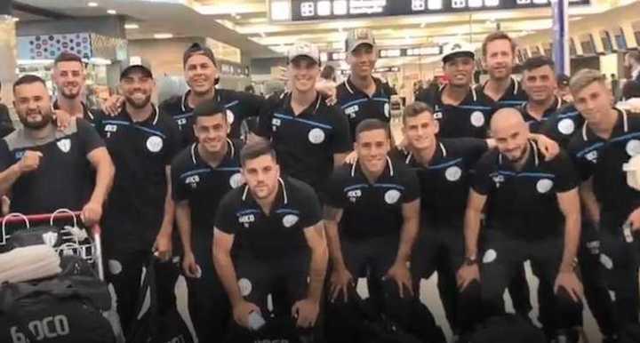 Argentino de Merlo se motiva para enfrentar a River