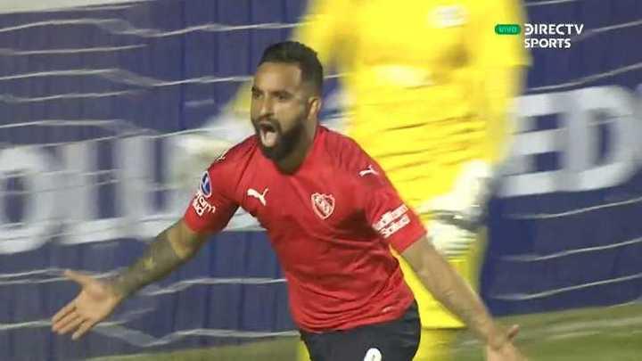 Herrera empató para Independiente
