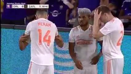 Josef Martínez y el 1-0 para Atlanta United ante Orlando City