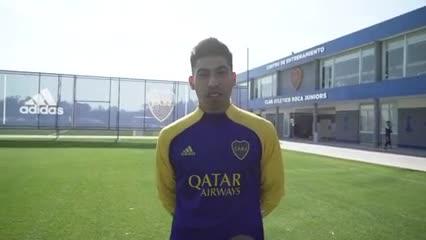 Ramírez sobre su llegada a Boca y su debut