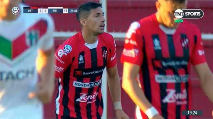 Díaz, en contra, marcó el 1 a 0 de Vélez