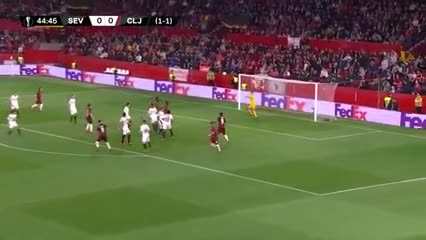 Sevilla 0 - Cluj 0