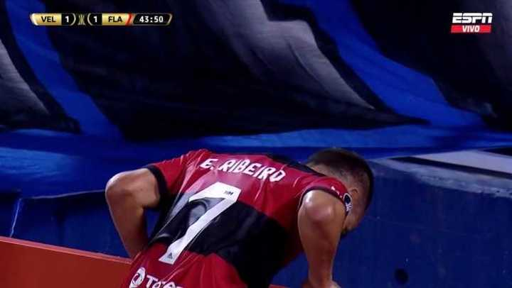 Ribeiro se perdió el segundo