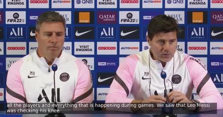 Pochettino explicó por qué sacó a Messi